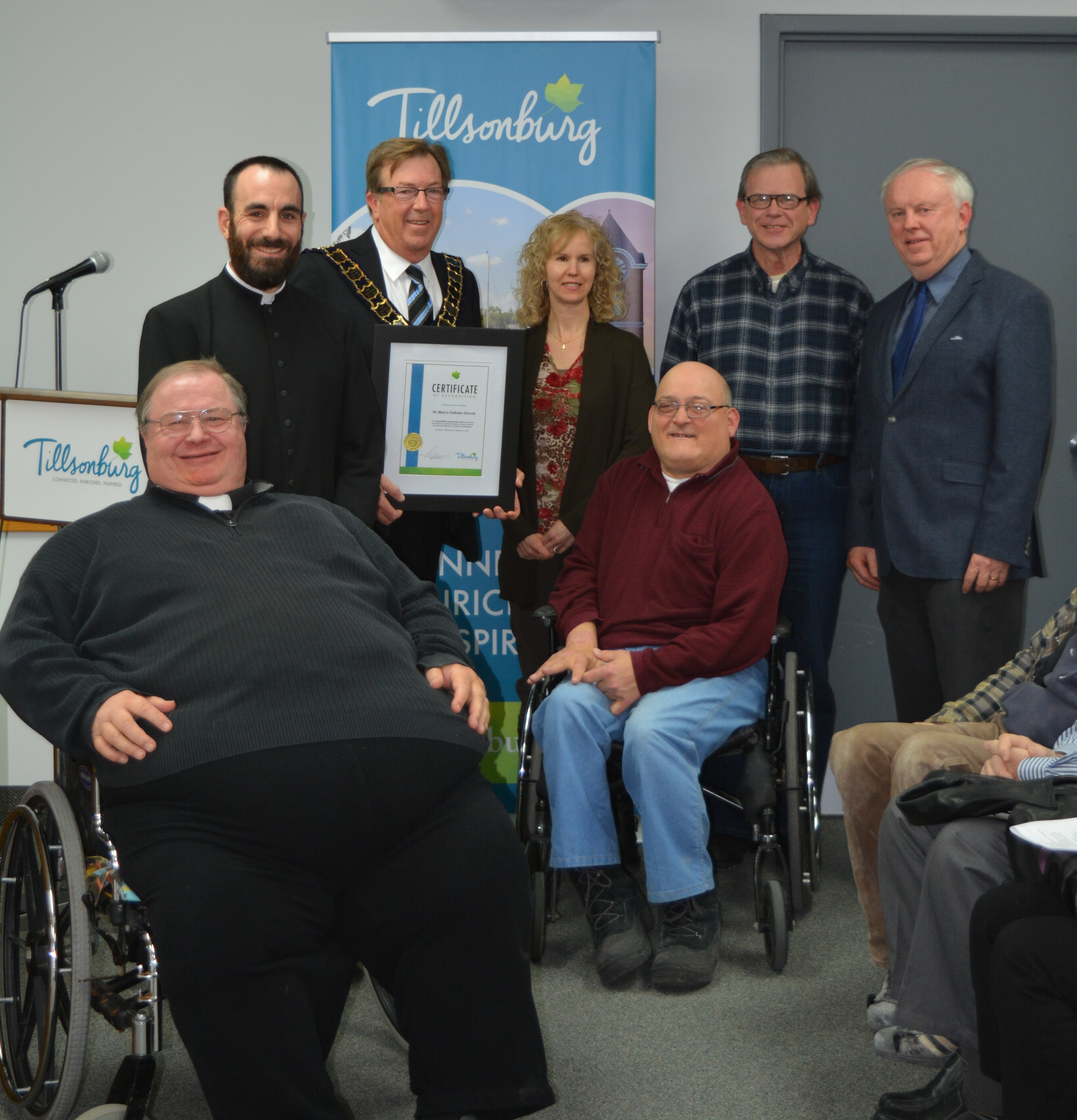 Accessibility Achievement Award Presentation