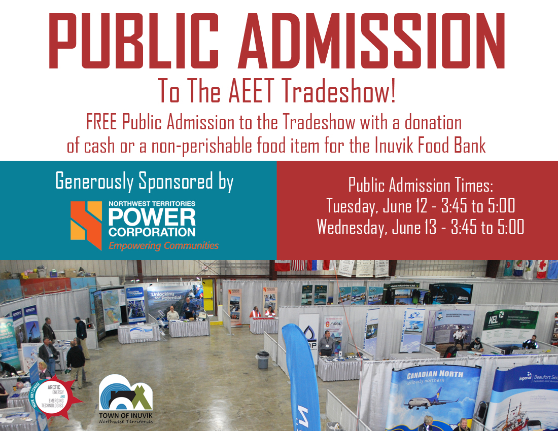 PUBLIC ADMISSION To The AEET Tradeshow 2018!