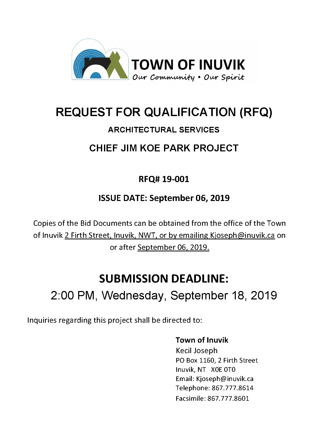 Request for Qualification