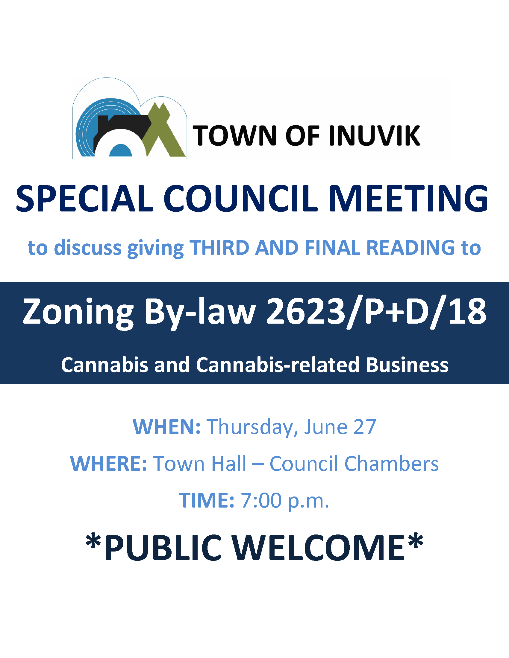 June 27 2019 Special Council Meeting