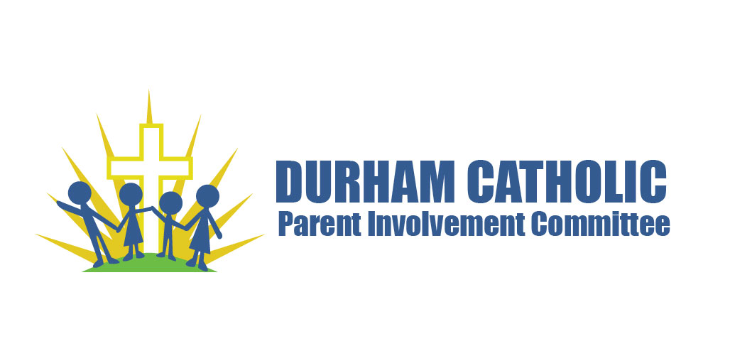 Logo for the Durham Catholic Parent Involvement Committee