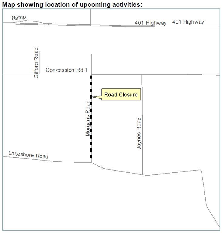 Morgans Road Closure