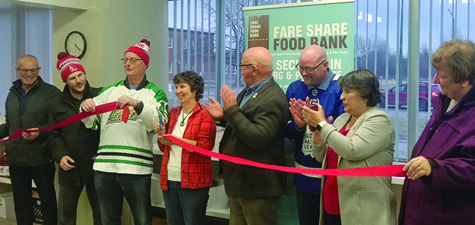 Food Bank Grand Opening
