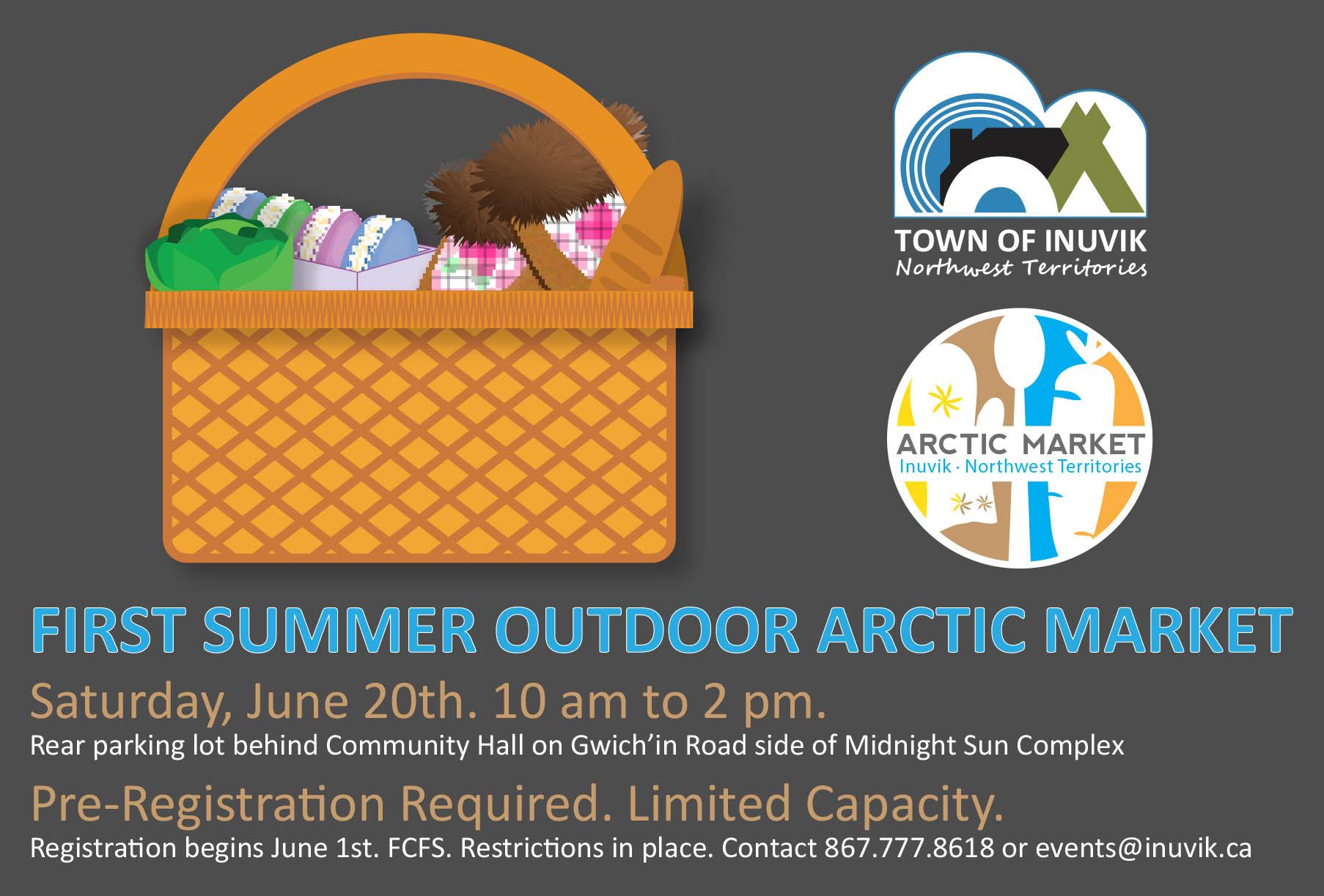 FIRST ARCTIC MARKET - JUNE 20, 2020