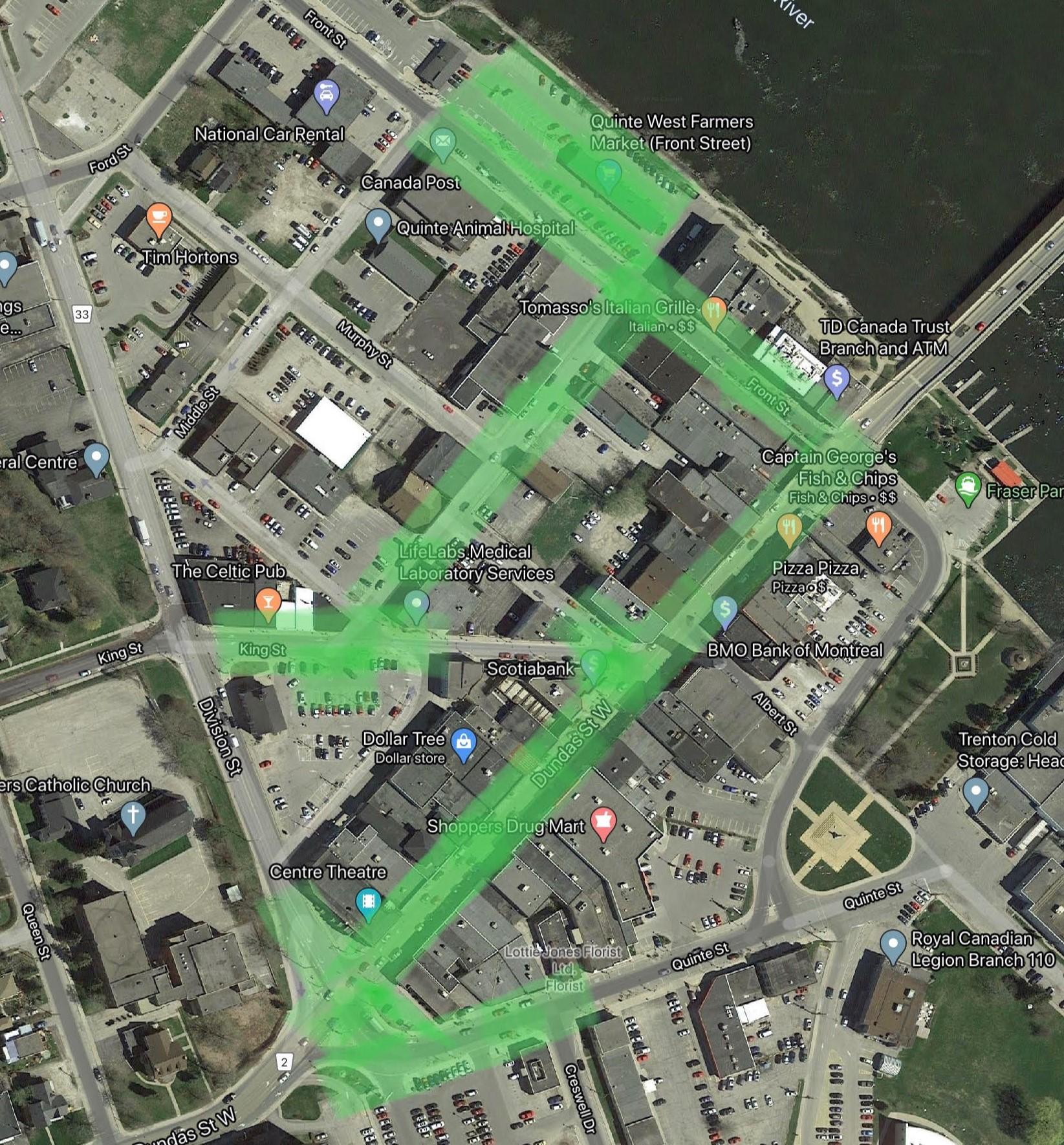 Downtown WiFi Coverage Beta