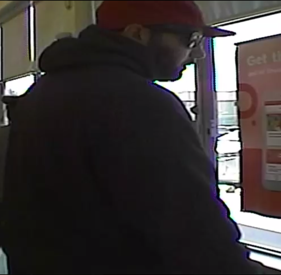 This is an image of the suspect