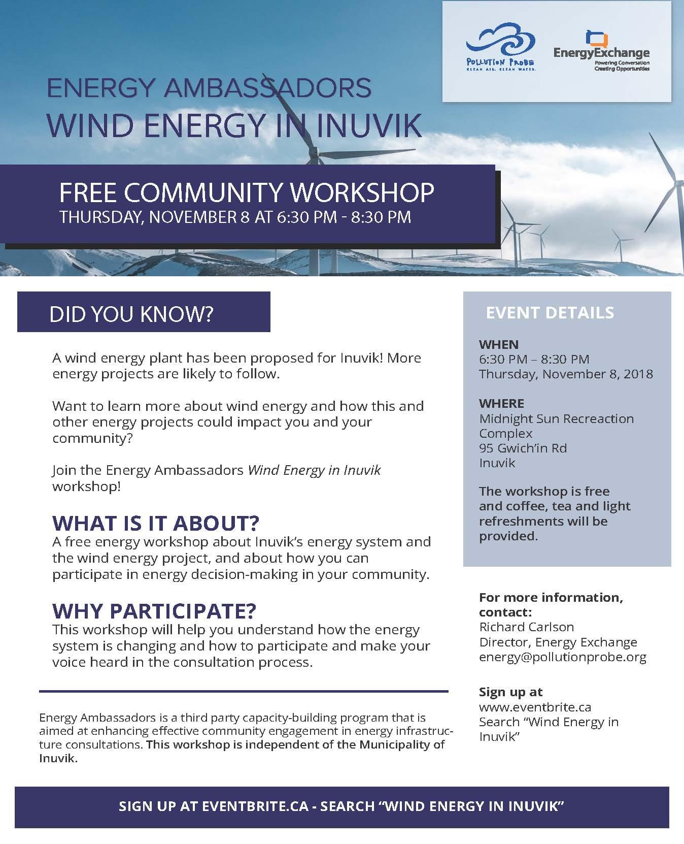 Community Workshop Poster