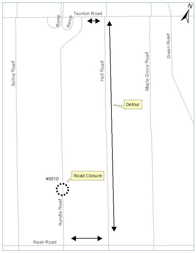 Rundle Road Closure