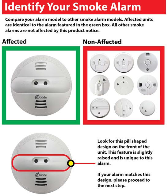 Kidde Smoke Alarm Recall April 2018