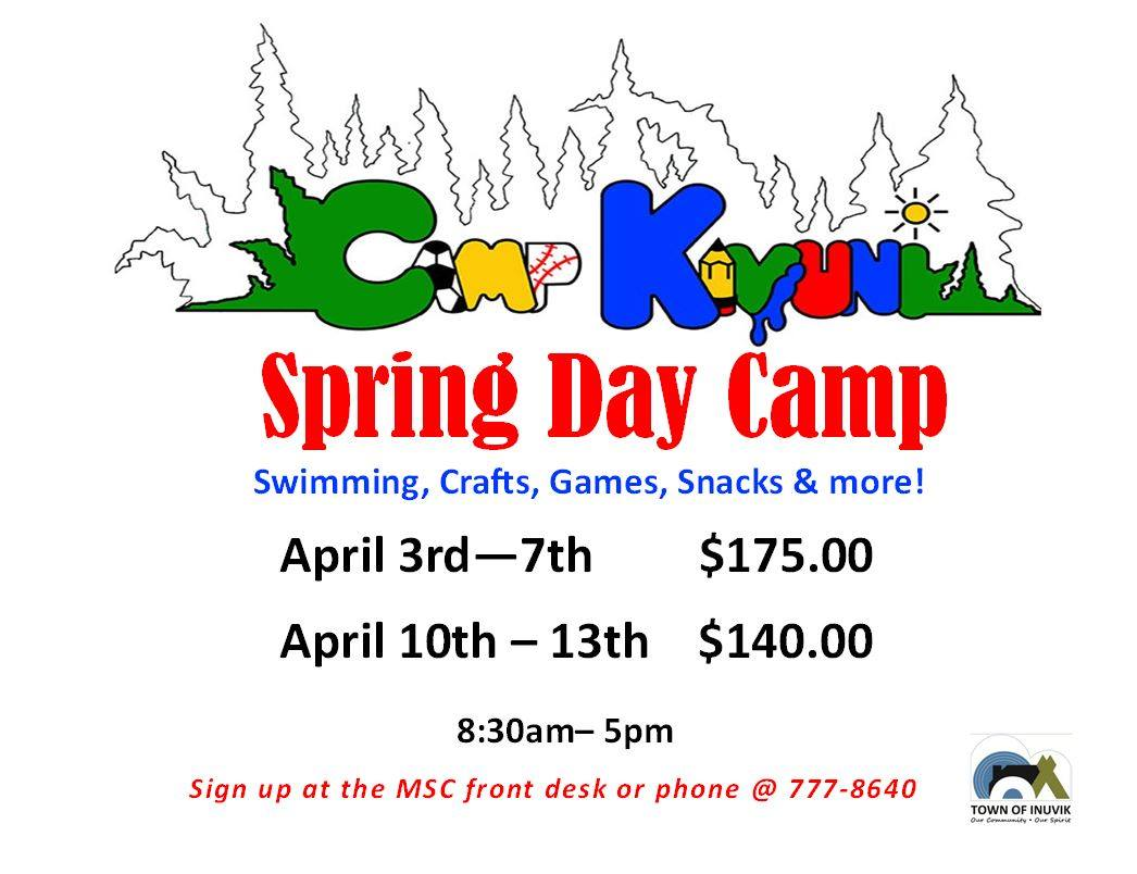 Spring Day Camp