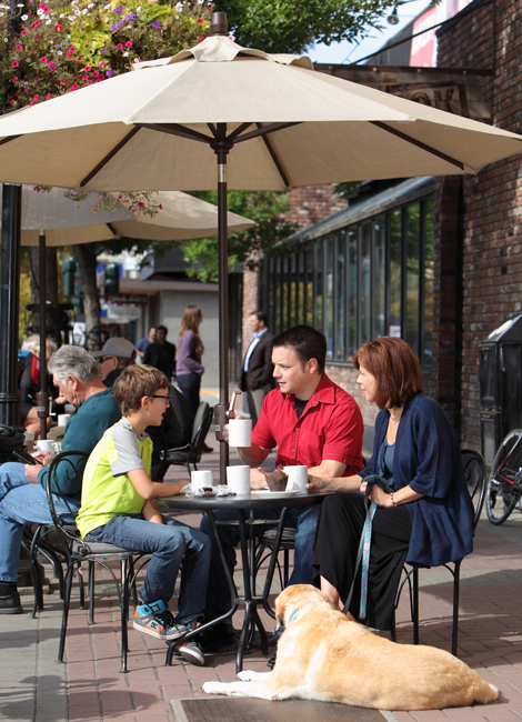 Vernon BC Patios and Cafes
