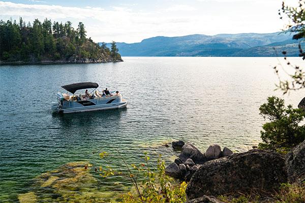 Patio Boat Vernon BC